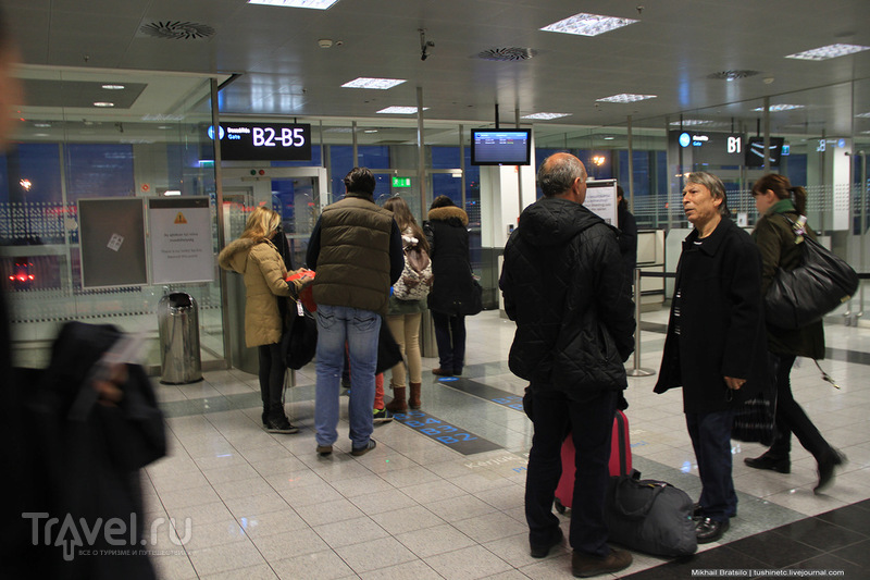 Международный аэропорт имени Ференца Листа в Будапеште / Венгрия