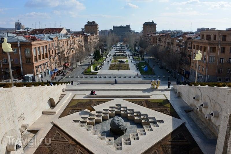Ереванский Большой Каскад / Фото из Армении