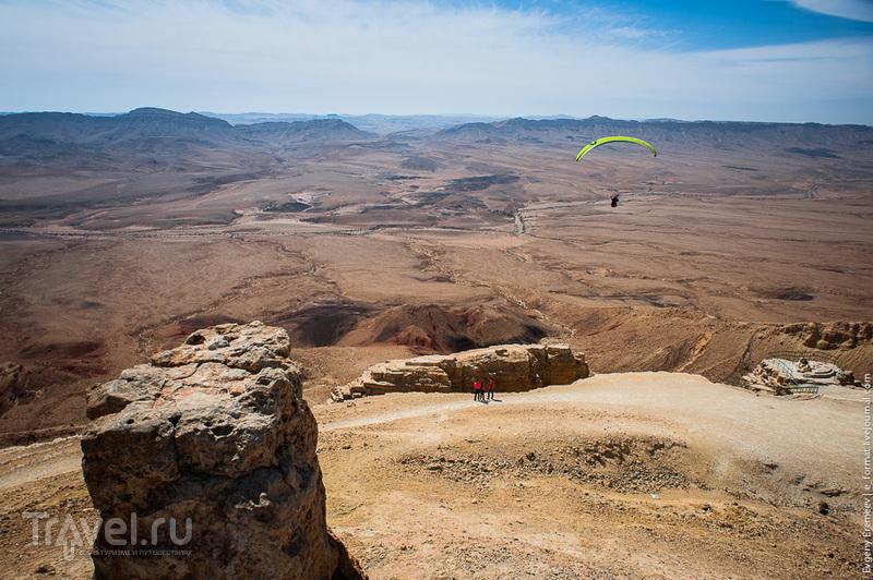 Самый большой кратер в мире / Израиль