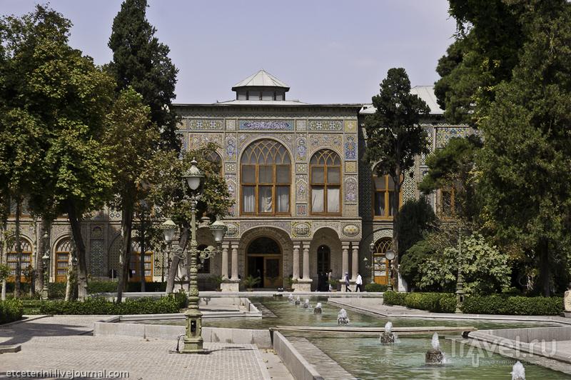 Дворец Голестан, главный павильон. Тегеран, Иран / Фото из Ирана