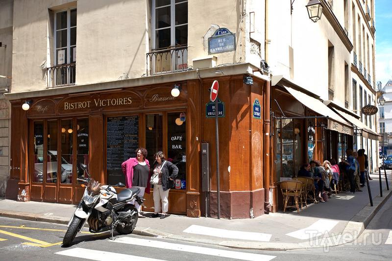 Обычное парижское бистро / Франция