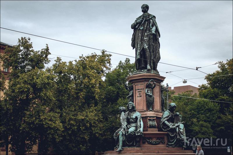 Мюнхен перед ливнем / Германия