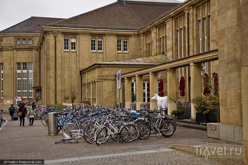 Европе территория велосипедов. Швейцария / Фото из Германии