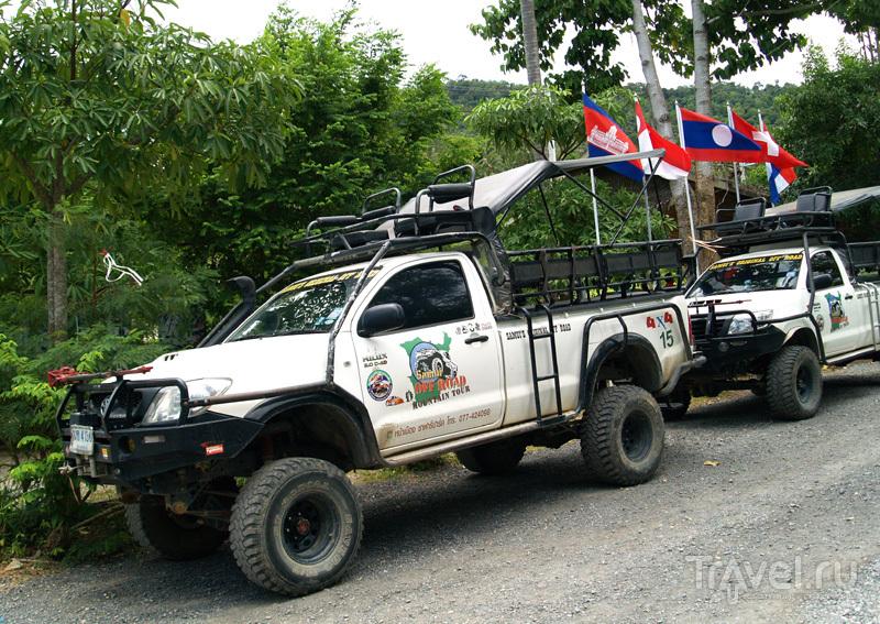 Джипы на острове Самуй в Таиланде / Фото из Таиланда
