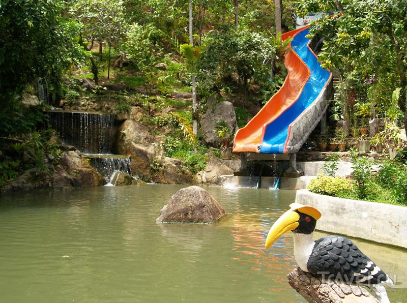 Водные аттракционы на острове Самуй в Таиланде / Фото из Таиланда