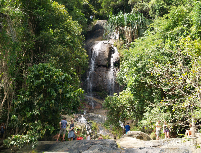 Водопад Namuang на острове Самуй в Таиланде / Фото из Таиланда