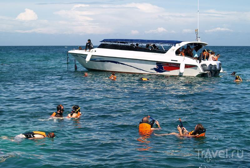 В бухте острова посреди морского национального парка Ангтхонг, Таиланд / Фото из Таиланда