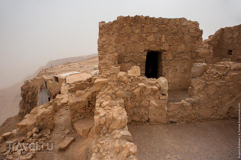 Развалины крепости. Масада, Израиль / Фото из Израиля
