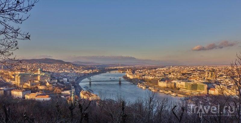 С горы открывается лучший вид на Будапешт