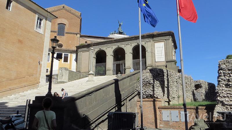 На Капитолийском холме. Рим / Италия