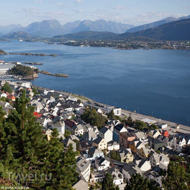 Путешествие по Норвегии. Олесунн / Норвегия