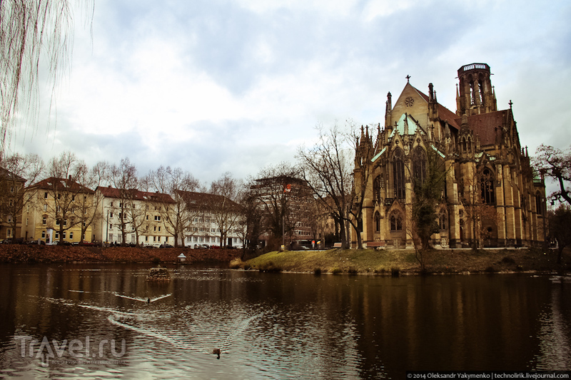 Прогулка по Штутгарту. Германия / Фото из Германии