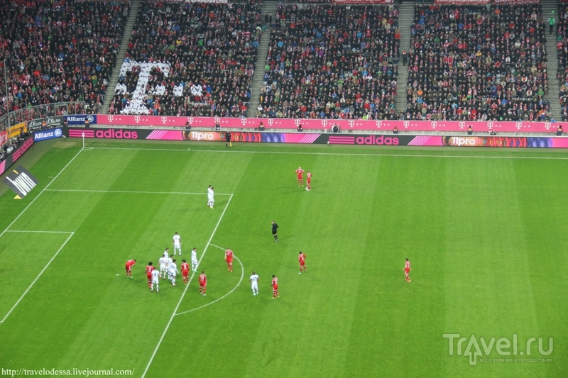 Бавария против Шальке на Альянц Арене / Германия