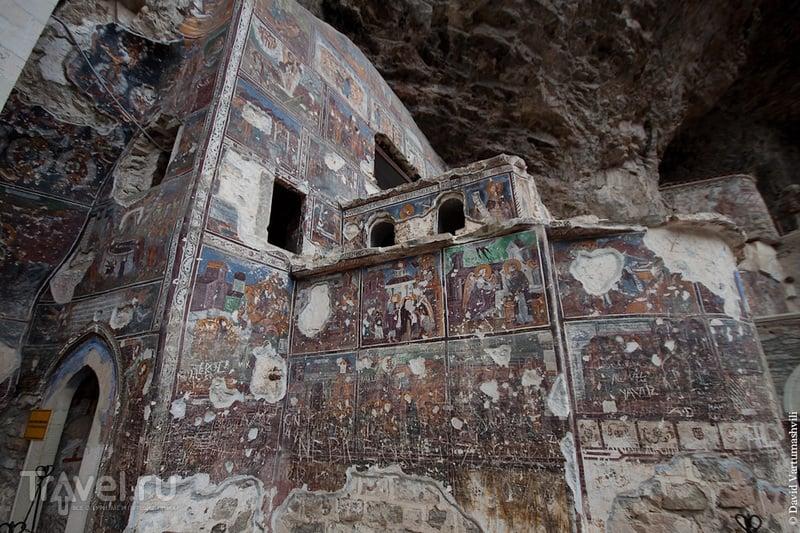 Турция, окрестности Трабзона. Монастырь Сумела / Турция
