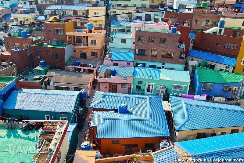 Южная Корея. Город Пусан. Деревня Камчхон / Южная Корея