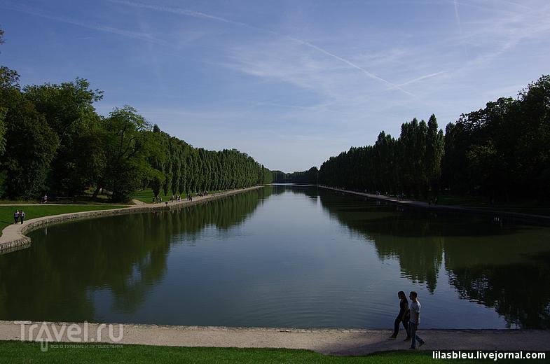 Дворец и парк в Sceaux / Франция