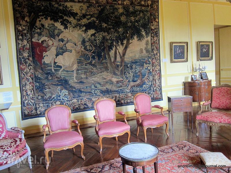 Внутреннее убранство замка / Фото из Франции