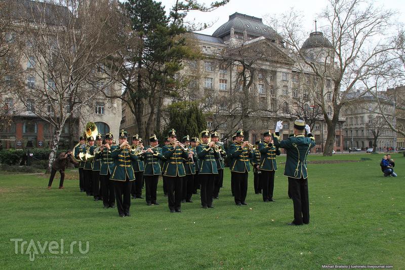 Празднование Дня революции в Будапеште / Венгрия