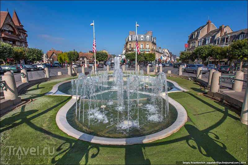 Довиль. Нормандия, Франция / Фото из Франции