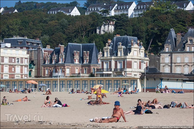 Курорт для любовниц богатых буржуа. Трувиль, Франция / Фото из Франции