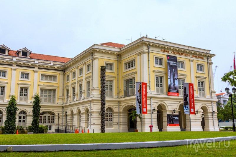 В музее цивилизаций Азии есть как постоянная экспозиция, так и временные выставки