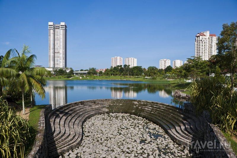 Центральный парк в Куала-Лумпур занимает 20 гекторов