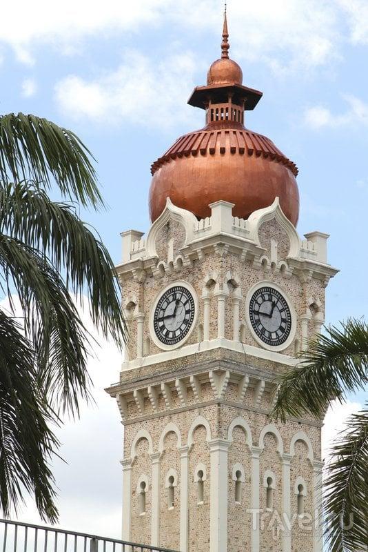 Высота часовой башне - чуть больше 40 метров