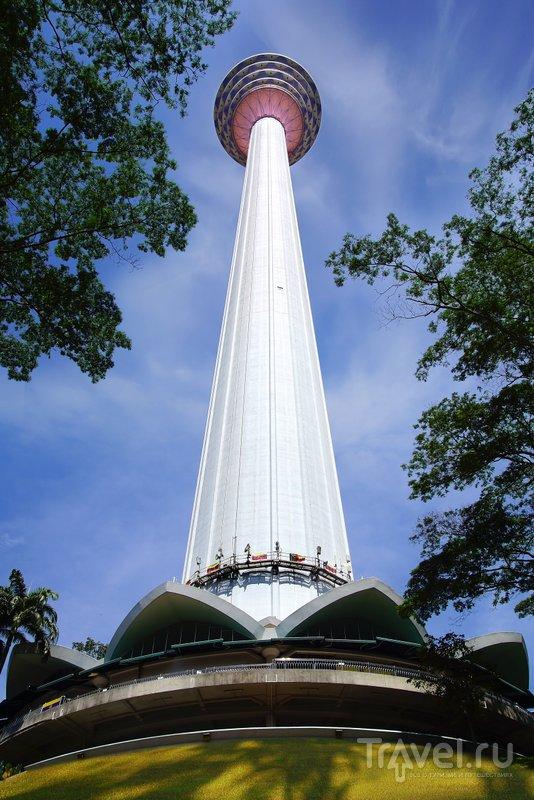 Башня Менара занимает 7 место в мире по высоте среди телевышек