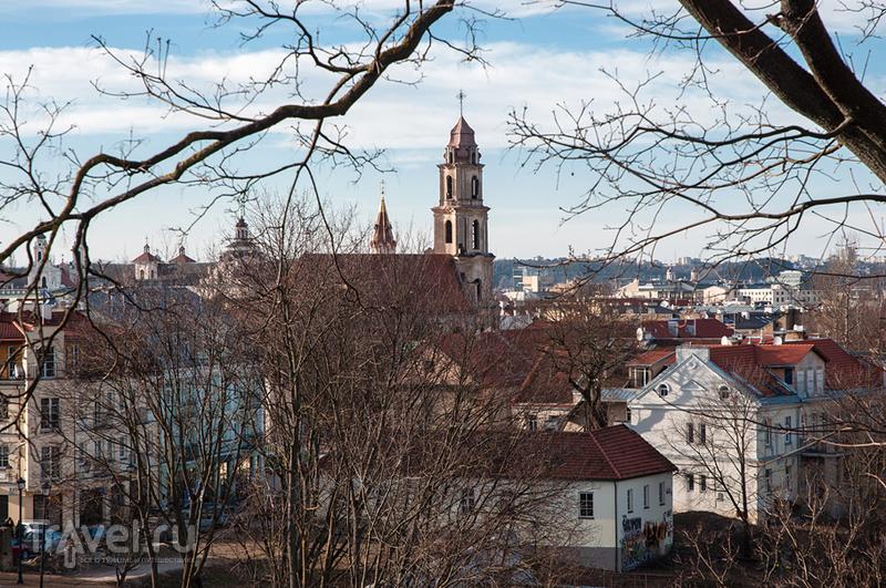 Старый город с высот больших и маленьких. Вильнюс, Литва / Фото из Литвы