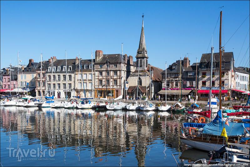 Онфлёр, Нормандия, Франция / Фото из Франции