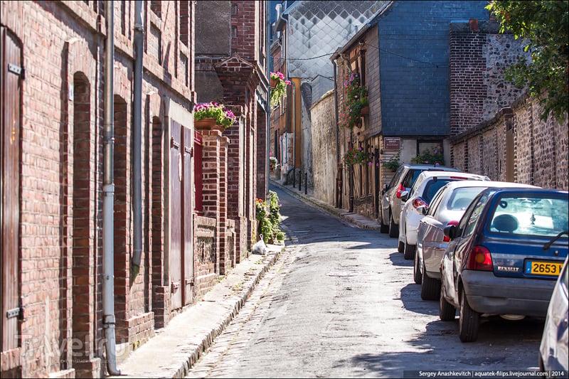 Город - произведение искусства. Онфлёр, Франция / Фото из Франции