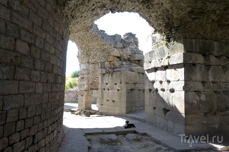 Пергам. Асклепион. Бергама, Турция / Турция