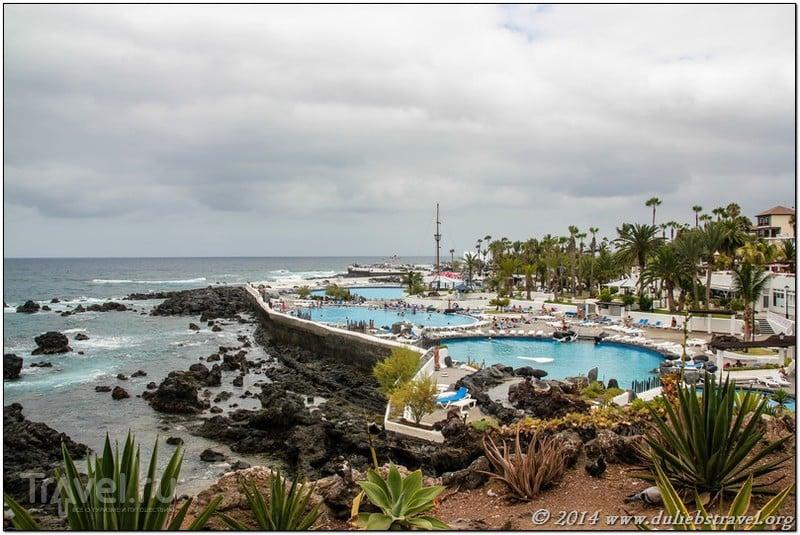 Пляжи Тенерифе: Пуэрто де ла Крус / Испания