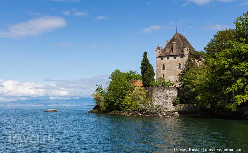 Женевское озеро. Ивуар, Франция / Фото из Франции