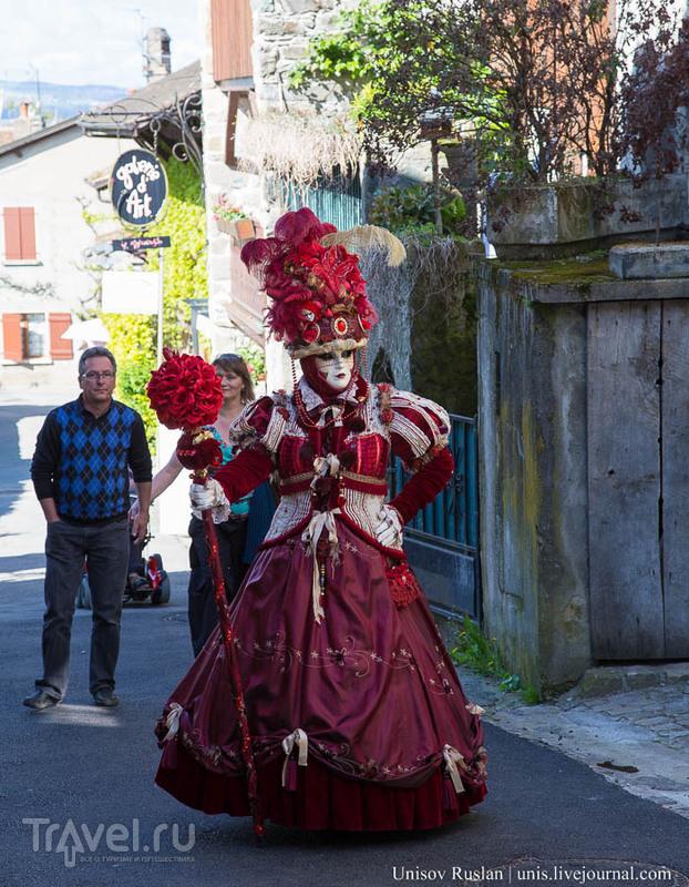 Венецианский карнавал во Франции. Женевское озеро, Ивуар / Фото из Франции