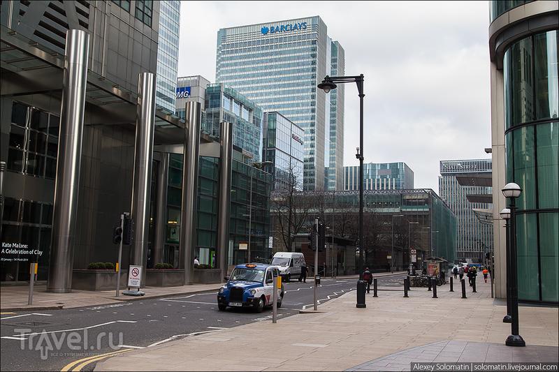 Canary Wharf. Деловой квартал Лондона / Великобритания