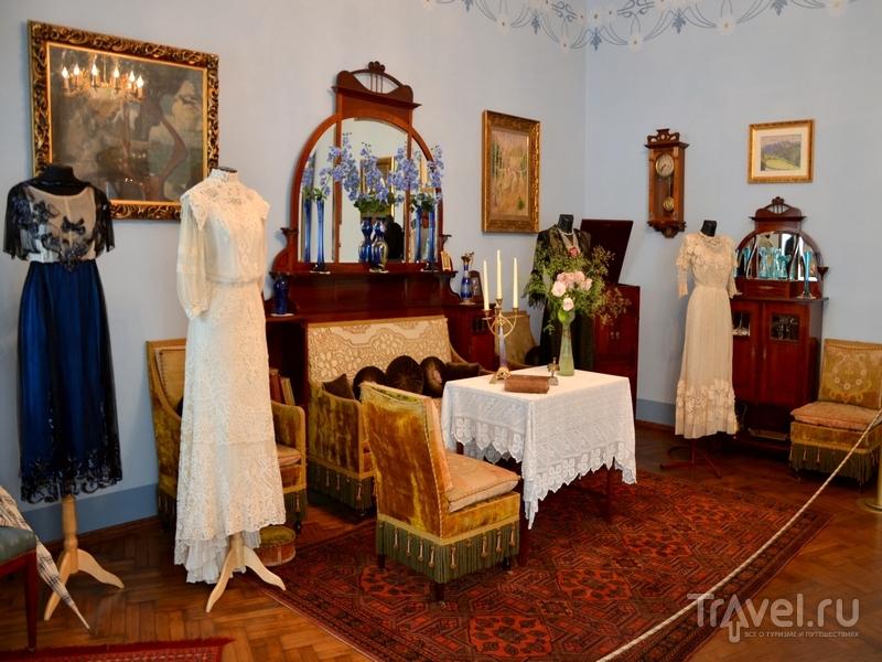 Экспонаты музея ар-нуво