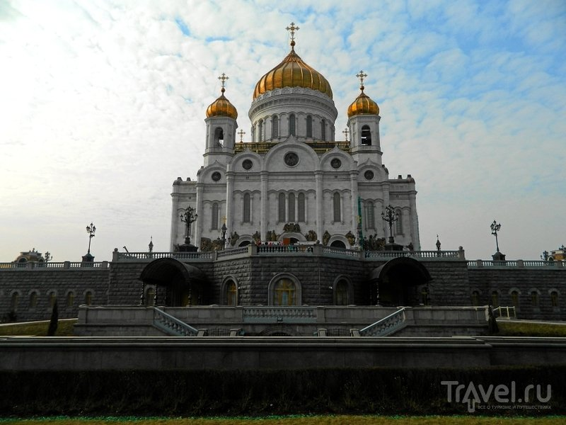 Храм Христа Спасителя. Москва, Россия / Фото из России