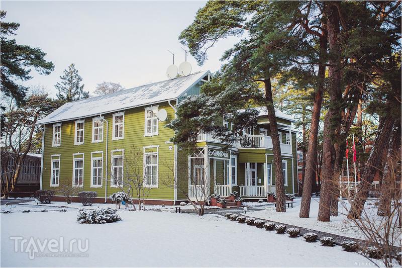 Паланга зимой / Литва