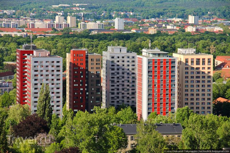 Студенческие общежития. Дрезден, Германия / Фото из Германии