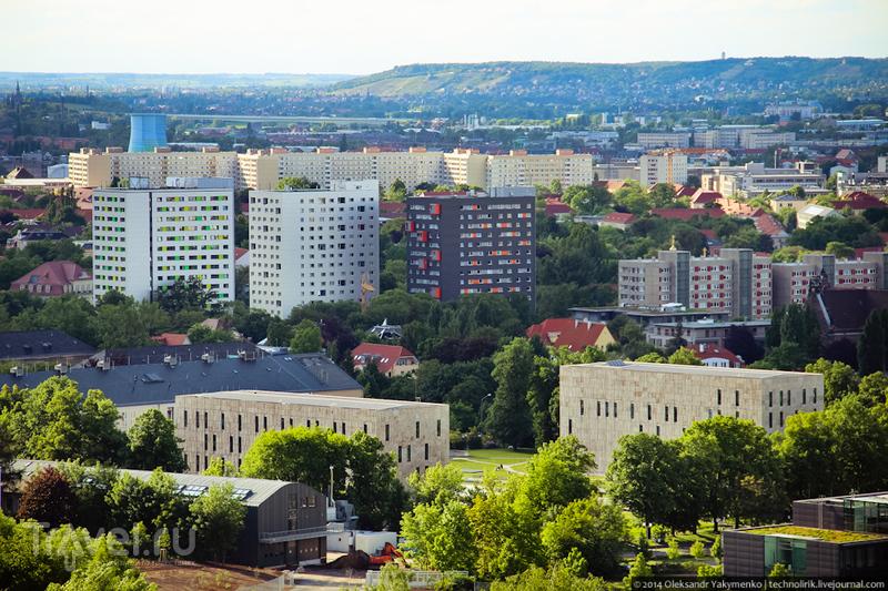 ГДР-овское наследие Дрездена. Германия / Фото из Германии