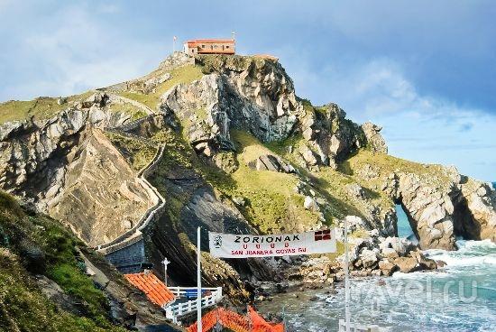 Страна Басков. Остров San juan Gaztelugatxe / Испания
