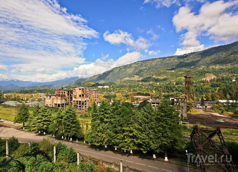 Ткуарчал, Абхазия. Шахтёрский город и заброшенная ГРЭС / Абхазия