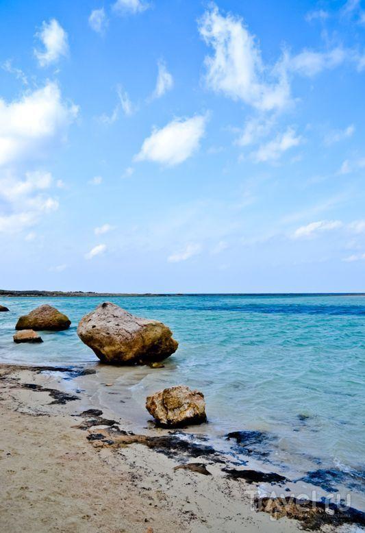 Бухта Балос. Слияние трех морей / Греция