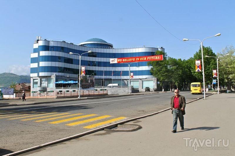 Stepanakert city is the capital of Nagorno-Karabakh Republic