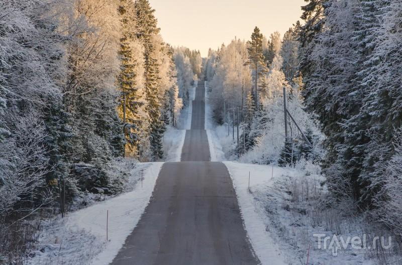 Трасса ралли тысячи озёр и Kallio Planetarium / Финляндия