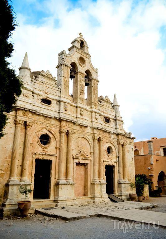 Монастырь Аркади. Крит, Греция / Греция