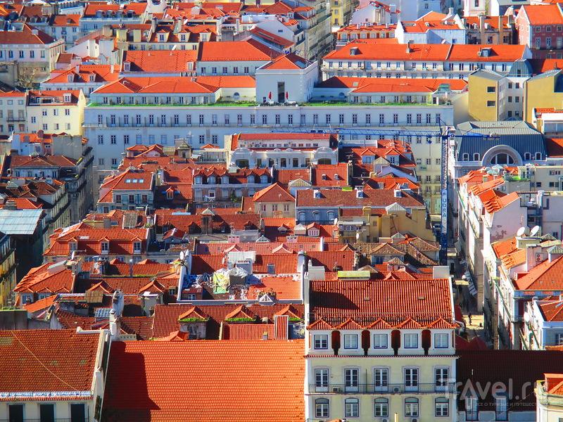 Лиссабон с высоты птичьего полета / Португалия
