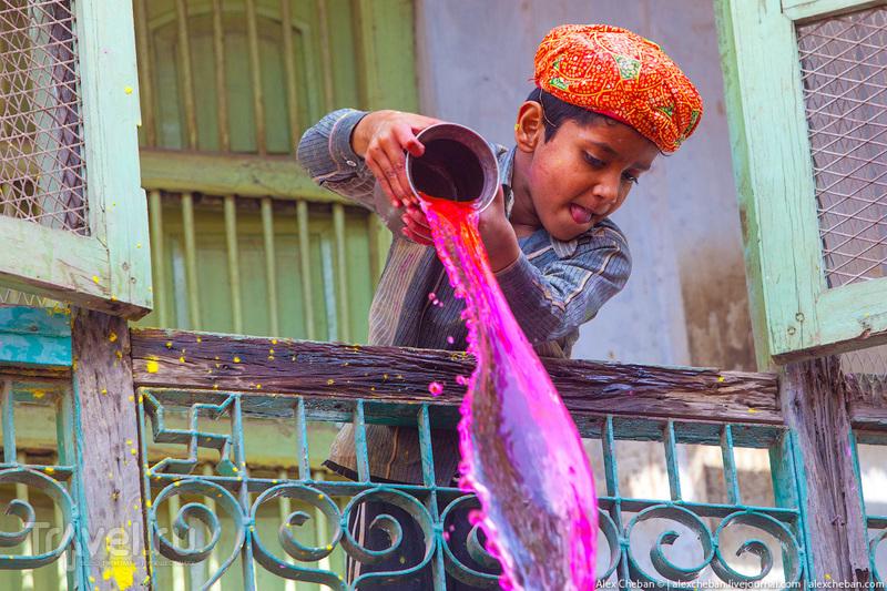 Праздник Холи. Индия / Фото из Индии