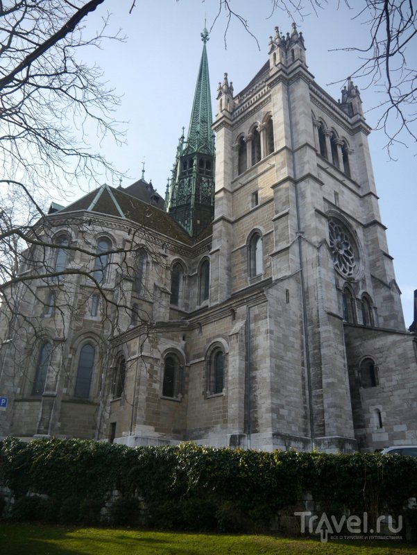 Вид на Женевский собор